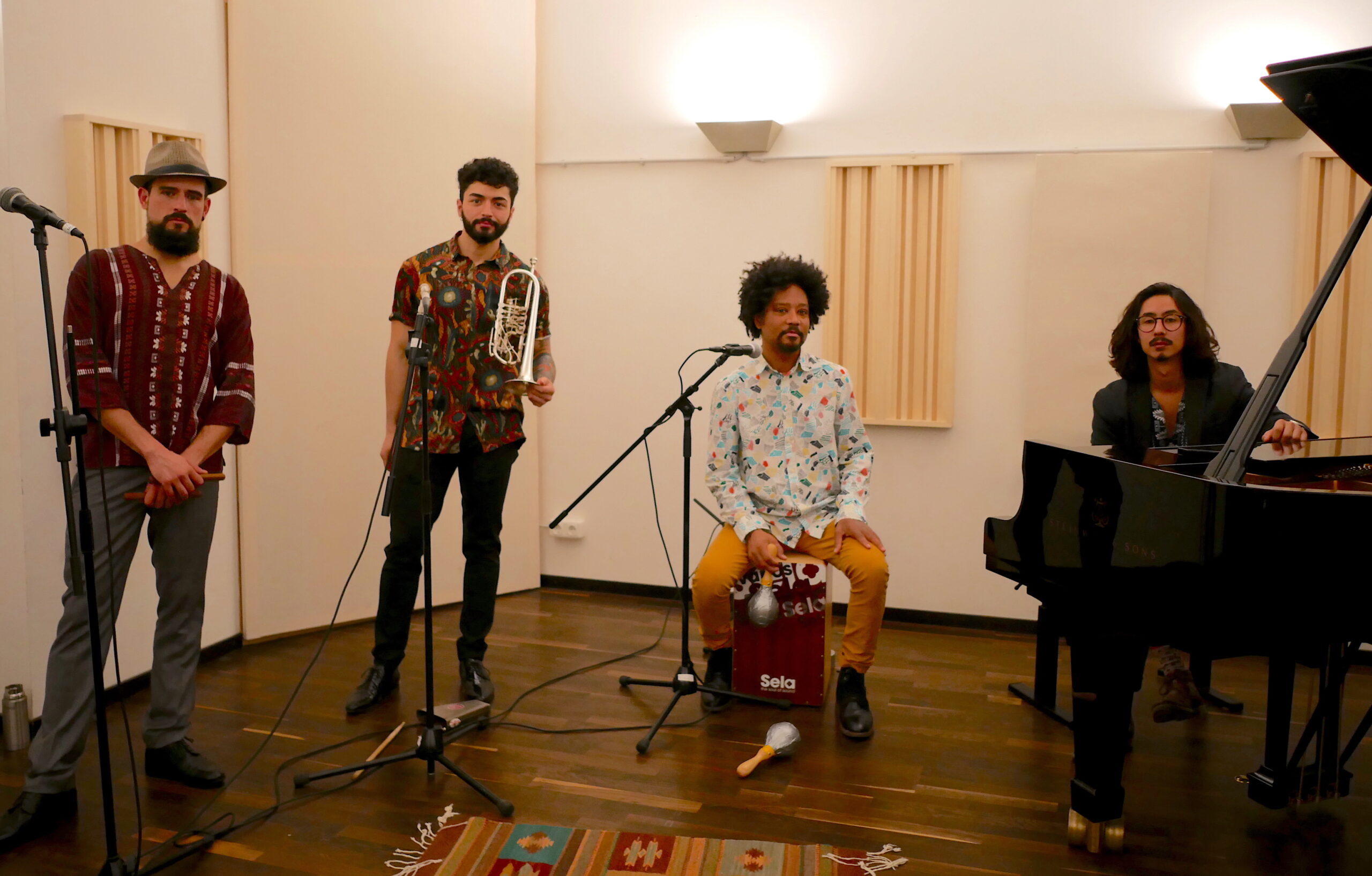 09.05/20:25h Live – Alebrijes – Latin Quartet
